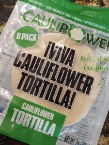 package of caulipower cauliflower tortillas